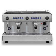 Black Silver Espresso machine Iberital 2 group