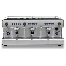 Black Silver Espresso machine Iberital 3 group