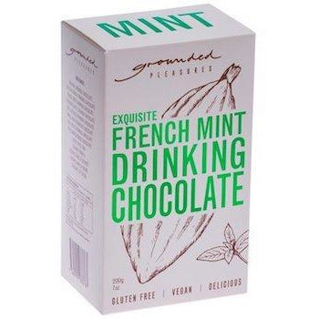 French Mint grounded pleasures drinking chocolate box