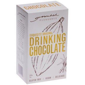 Drinking chocolate Grounded Pleasures White box