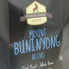 Mount Buninyong Blend Dark roast coffee Ballarat