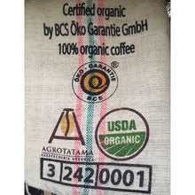 coffee sack organic