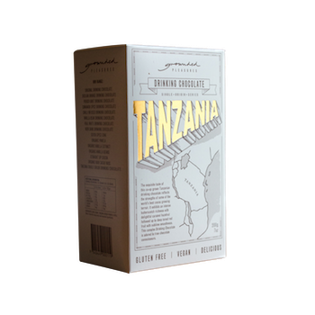 single origin chocolate tanzania box