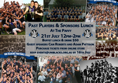 Past Players & Sponsors Luncheon