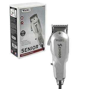 Wahl Professional Senior Clipper #8500 – The Original Electromagnetic Clipper with V9000 Motor – Great for Barbers and Stylists – Perfect for Heavy-Duty Cutting, Tapering, Fades, and Blends