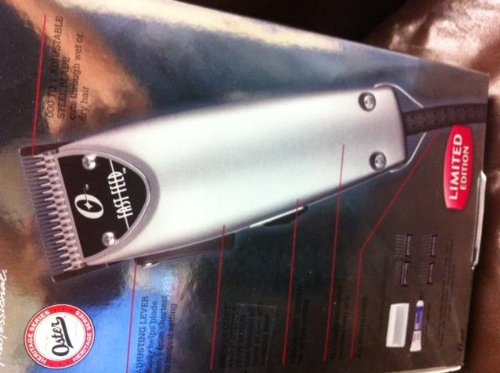 Oster Limited Edition Fast Feed Hair Cut Clipper Professional Pro Salon silver Made In USA with adjustable blade system Quiet Pivot Motor 76023-076