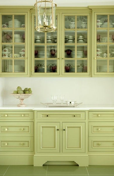 Celery Green Kitchen Cabinet Nest Interior Design