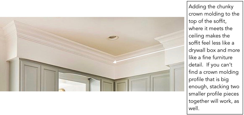 Crown Molding Kitchen Soffit