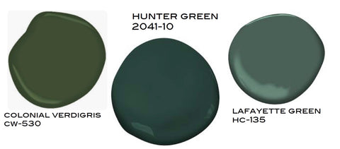 Best Dark Green Paint Colors