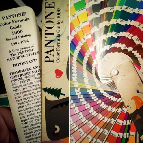 Vintage Pantone Color Deck