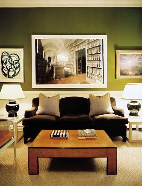 Green Paint Den Nest Interior Design Katie Ridder