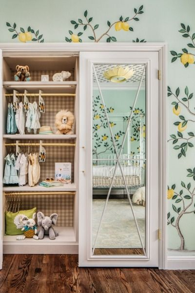 Benjamin Moore Iced Mint Nest Interior Design Nursery