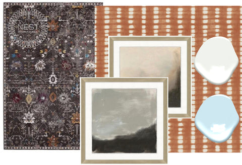 Smoky Charcoal and Cinnamon: How to Layer Color and Texture into your home Ryan Fulton