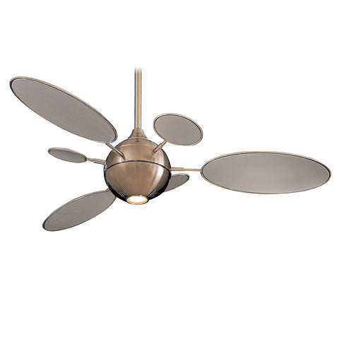 Cirque ceiling fan with light
