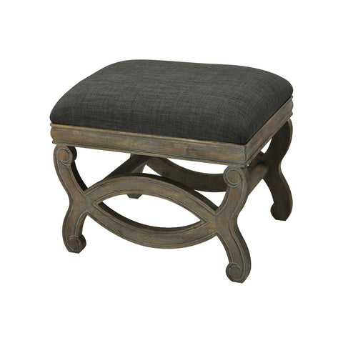 Forest Linen Single Bench