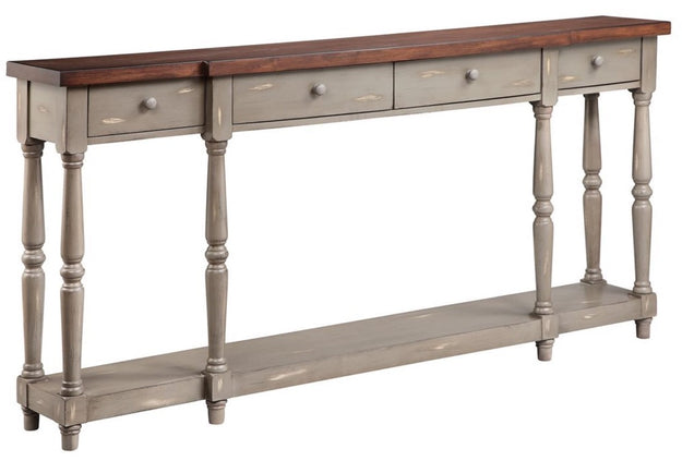 French Grey Console