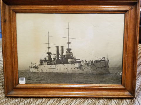 Vintage Ship Framed Photo II