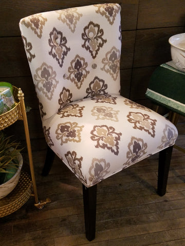 Damask Side Chair