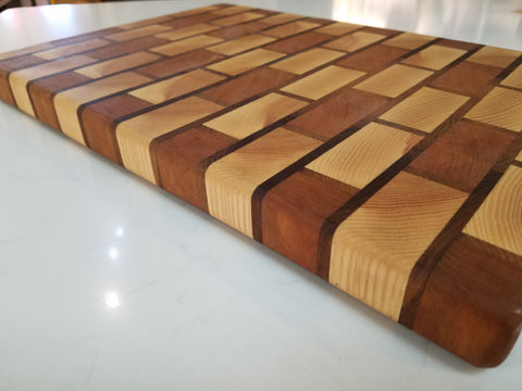 "12"" x 17""  Brick Style Cutting Board"