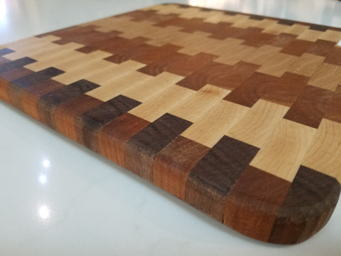 "11"" x 12"" Jenga Cutting Board"