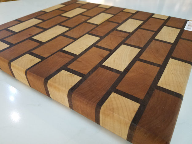 "12 1/4"" x 14 1/2"" Brick Style Cutting Board"