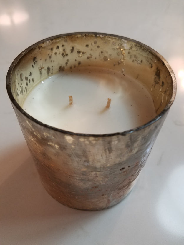 Golden Embers Tumbler Candle