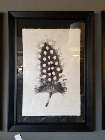 Black Frame with Feather Study #1