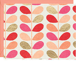 Stems Coral Notecard Set