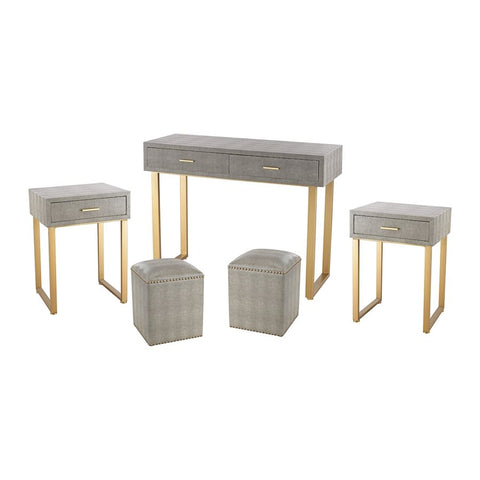 Five Piece Desk Furniture Set