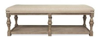 Small Juniper Upholstered Bench