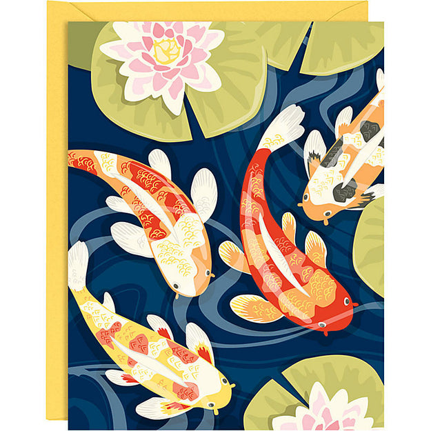 Koi Pond Notecard Set