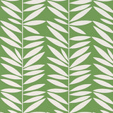 Leaf Stripe Wallpaper