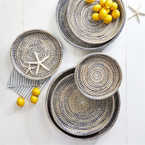 Round Woven Tray