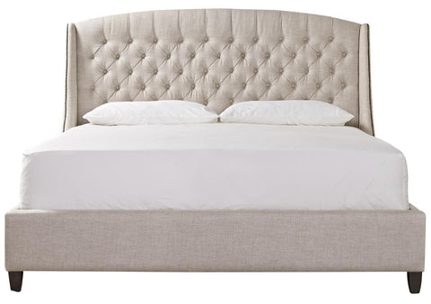 Halston Bed, Cream