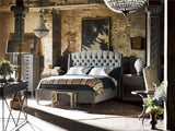Halston Bed, Gray