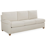 Rolled Arm Sectional Sofa with Chaise