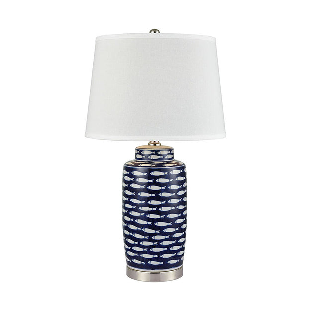 Blue Montauk Lamp