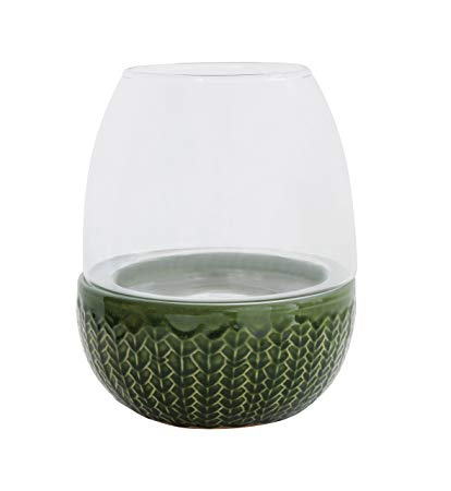 Green Base Candle Holder