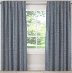 "Unlined Window Treatment Panel - 63"" Length"