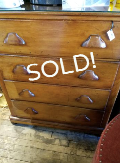 Vintage Butternut Chest