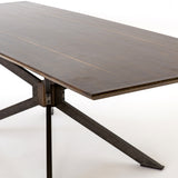 English Brown Oak Dining Table