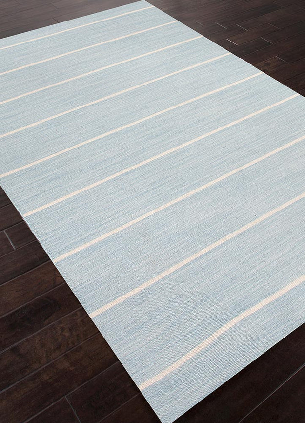 Celestial Blue Coastal Shores Rug