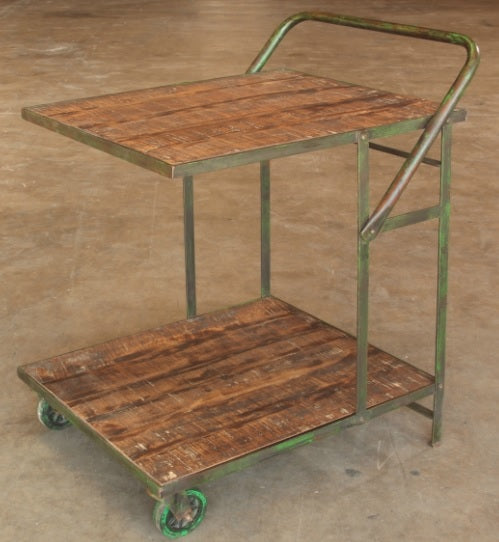 Vintage Inspired Iron Garden Trolley