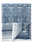 Diamond Azul Throw