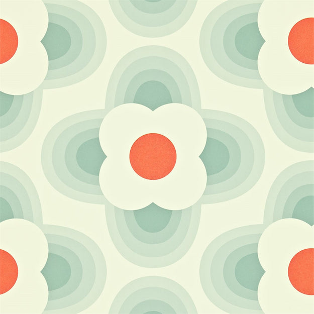 Striped Petal Wallpaper