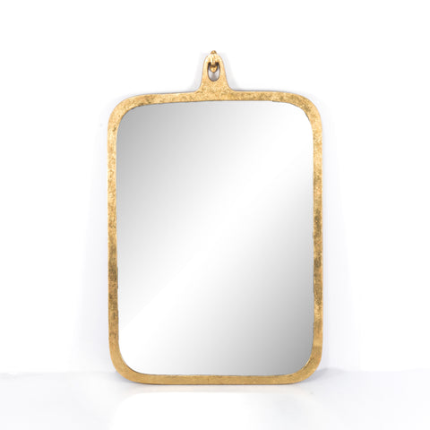 Hyde Gold Leaf Rectangular Mirror