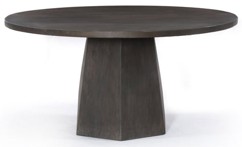 Coal Grey Dining Table