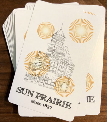 Sun Prairie Playing Cards