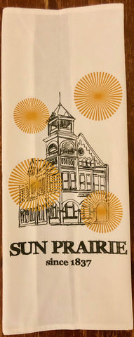Sun Prairie Tea Towel