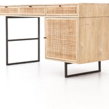 Cane Wood Weave Desk